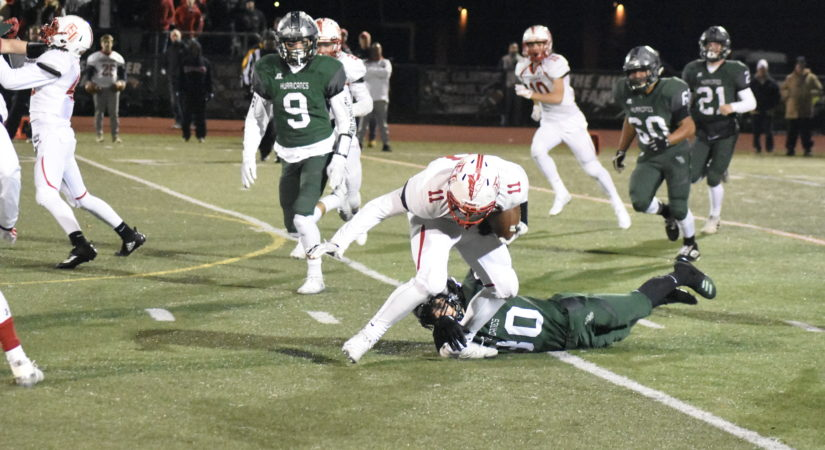 East Islip's Air Attack Is Too Much For Westhampton Beach Football In County Semifinal - 27 East