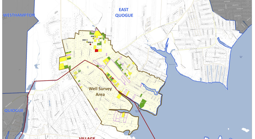 Town Expands Eligabilty For Public Drinking Water For Some East Quogue And Quogue Residents - 27 East